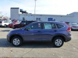 2013 Twilight Blue Metallic Honda CR-V LX AWD #73633770