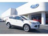 2013 White Platinum Metallic Tri-Coat Ford Escape Titanium 2.0L EcoBoost #73633451