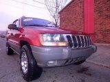 2002 Inferno Red Tinted Pearlcoat Jeep Grand Cherokee Laredo 4x4 #73633964