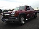 2005 Sport Red Metallic Chevrolet Silverado 1500 Z71 Crew Cab 4x4 #73633953