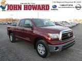 2010 Salsa Red Pearl Toyota Tundra SR5 Double Cab 4x4 #73633737