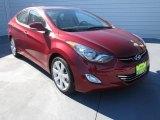 2013 Red Hyundai Elantra Limited #73633530