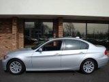 2007 Titanium Silver Metallic BMW 3 Series 328xi Sedan #7353169