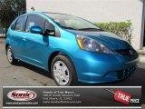 2013 Blue Raspberry Metallic Honda Fit  #73633305