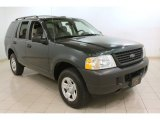 2003 Aspen Green Metallic Ford Explorer XLS #73633707