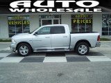 2012 Bright Silver Metallic Dodge Ram 1500 Big Horn Crew Cab 4x4 #73633616
