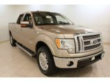 2011 Pale Adobe Metallic Ford F150 Lariat SuperCrew 4x4 #73633705