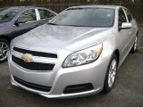 2013 Silver Ice Metallic Chevrolet Malibu LT #73633275
