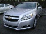 2013 Silver Ice Metallic Chevrolet Malibu LT #73633274