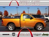 2012 Tequila Sunrise Pearl Dodge Ram 1500 Express Regular Cab 4x4 #73680676