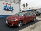 2013 Ruby Red Metallic Ford Fusion SE 1.6 EcoBoost #73680746