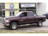 2005 Deep Molten Red Pearl Dodge Ram 1500 SLT Quad Cab 4x4 #7352522