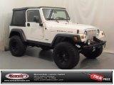 2006 Stone White Jeep Wrangler Rubicon 4x4 #73680864