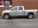 2008 Bright Silver Metallic Dodge Ram 1500 Big Horn Edition Quad Cab #7357897