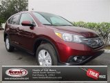 2013 Basque Red Pearl II Honda CR-V EX AWD #73680642