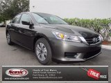 2013 Hematite Metallic Honda Accord LX Sedan #73680633