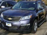 2013 Atlantis Blue Metallic Chevrolet Traverse LT AWD #73707960