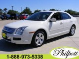 2008 White Suede Ford Fusion SE #7357996