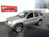 2002 Bright Silver Metallic Jeep Grand Cherokee Limited 4x4 #73713745