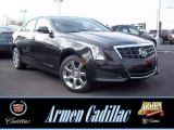 2013 Black Diamond Tricoat Cadillac ATS 2.0L Turbo Luxury AWD #73713202