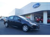2013 Tuxedo Black Ford Focus S Sedan #73713378