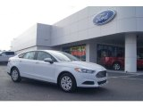 2013 Oxford White Ford Fusion S #73713376
