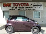 2012 Black Currant Metallic Scion iQ  #73713263
