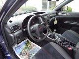 2012 Subaru Impreza WRX STi 4 Door Black Interior