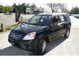 2006 Nighthawk Black Pearl Honda CR-V LX 4WD #7352225