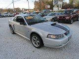 2001 Silver Metallic Ford Mustang GT Coupe #73713698