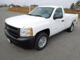 2013 Summit White Chevrolet Silverado 1500 Work Truck Regular Cab #73713594