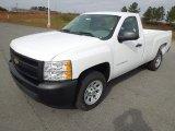 2012 Summit White Chevrolet Silverado 1500 Work Truck Regular Cab #73713592