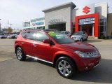 2007 Sunset Red Pearl Metallic Nissan Murano SL AWD #73713407