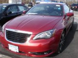 Deep Cherry Red Crystal Pearl Chrysler 200 in 2013