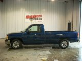 2001 Indigo Blue Metallic GMC Sierra 1500 SL Regular Cab #73751213