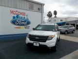 2013 White Platinum Tri-Coat Ford Explorer Sport 4WD #73750560
