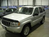 2002 Bright Silver Metallic Jeep Grand Cherokee Limited 4x4 #7357918
