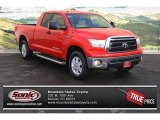 2010 Radiant Red Toyota Tundra SR5 Double Cab 4x4 #73750405