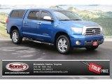 2008 Blue Streak Metallic Toyota Tundra Limited CrewMax 4x4 #73750402