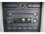 2006 Ford Mustang V6 Deluxe Convertible Audio System