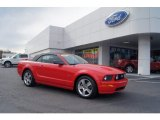 2007 Torch Red Ford Mustang GT Premium Convertible #73750660
