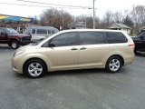 2011 Sandy Beach Metallic Toyota Sienna V6 #73750930