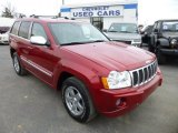 2006 Inferno Red Crystal Pearl Jeep Grand Cherokee Overland 4x4 #73751185