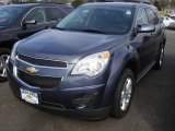 2013 Atlantis Blue Metallic Chevrolet Equinox LT #73750640