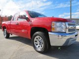 2012 Victory Red Chevrolet Silverado 1500 LT Extended Cab #73750776