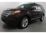 2011 Bordeaux Reserve Red Metallic Ford Explorer XLT 4WD #73750358