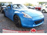 2009 Monterey Blue Nissan 370Z Touring Coupe #73750230