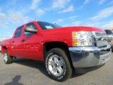 2013 Victory Red Chevrolet Silverado 1500 LT Crew Cab #73750771