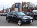 Royal Blue Pearl Acura RDX in 2008
