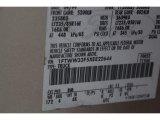 1999 F350 Super Duty Color Code for Light Prairie Tan Metallic - Color Code: BM